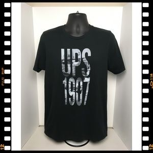 T-Shirt~UPS~1907~Shipping~Black~
